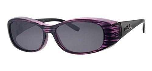 REVEX polarisierte Überbrille Sonnenbrille für Brillenträger Farbe3 CAT3