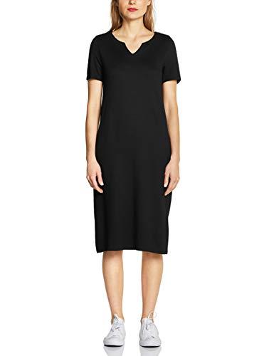Street One Damen 142510 Kleid, Schwarz (Black 10001), (Herstellergröße:42)