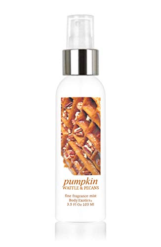 Pumpkin Waffle & Pecans Perfume Fine Fragrance Mist by Body Exotics 3.5 Fl Oz 103 Ml ~ the Irresistible Scent of Pumpkin Waffles with Pecans, Brown Sugar, Maple Syrup & Whipped Cream
