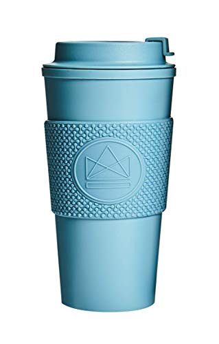 Neon Kactus 16oz/460ml | Double Walled Travel Mug/Tumbler | Reusable Coffee Cup | Fully Leakproof Lid | Keeps your Drink Hot & Cold | 100% Recyclable - Super Sonic 16oz