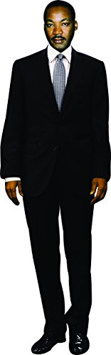 aahs!! Engraving Dr. Martin Luther King Jr. Cardboard Stand Up, 5 feet
