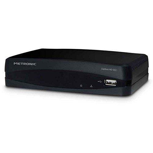 Metronic 441615 Décodeur / Adaptateur TNT HD Haute-définition Zapbox HD-SO.1 - Noir