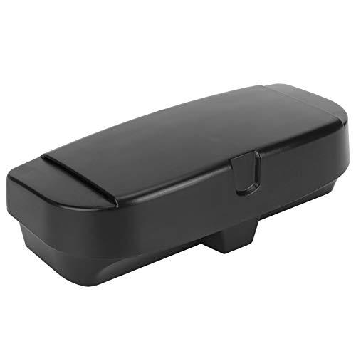 Emoshayoga Entradas Clips Soporte para Estuche de Gafas Clip para Visera para Gafas Soporte para Estuche para Gafas de Sol para Coche(Black)