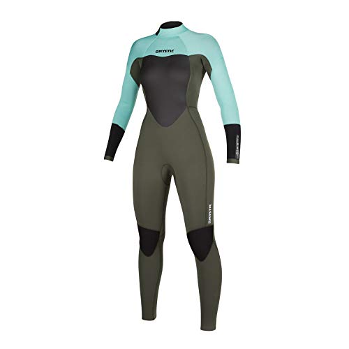 Mystic Watersports - Surf KiteSurf & Windsurfing Womens Star 5/3mm Wetsuit met Back Zip - Mintgroen - Thermische warme warmte