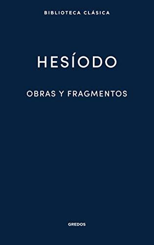 Obras y fragmentos (Nueva Biblioteca Clásica Gredos nº 22) (Spanish Edition)