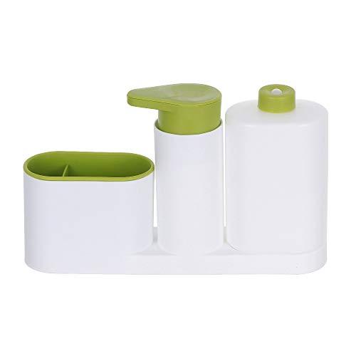 Local Makes A Comeback – spons-opbergrek voor het spoelen van servies in de keuken, keukenaccessoires, spoelbak, multifunctioneel wasmiddel, zeep, handfles, groen