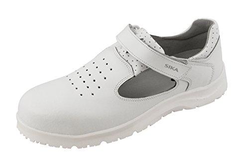 Sika SIKA Fusion Schuh mit Klettverschluss, weiß S1 + SRC