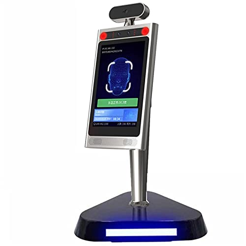 LVHI Máquina de medición de temperatura corporal todo en uno con reconocimiento dinámico de cara térmica Escáner térmico IR de cara dinámica para la entrada de la empresa