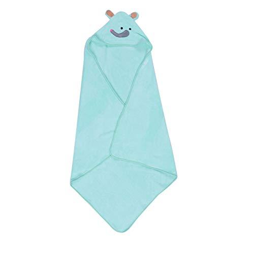 TOPBATHY Kids Hooded Badhanddoek Badjas Cartoon Konijn Koraal Fleece Zachte Zwembad Cape Cloak voor Kinderen Douche Gift