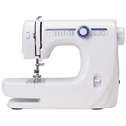 LDLL Naaimachine, elektrische huishoudnaaimachine, multifunctionele naaimachines in steekpatroon, voor beginners en gevorderden, beweegbare