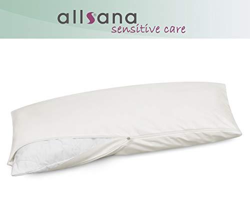 allsana Allergiker Kissenbezug 40x80 cm Allergie Bettwäsche Anti Milben Encasing Milbenschutz für Hausstauballergiker