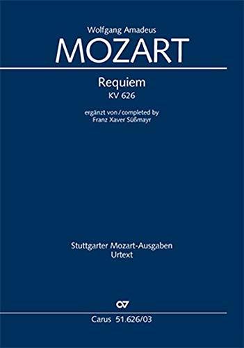 Requiem (Klavierauszug): Süßmayr-Version KV 626, 1791