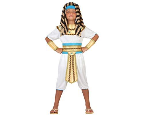 Atosa-23280 Disfraz Egipcio, color dorado, 3 a 4 años (23280)