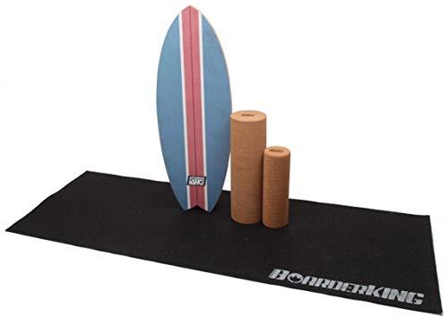 Balance Board Radial Set mit Korkrolle und Bodenschutz Outdoormatte DAFFY BOARDS improve your skills