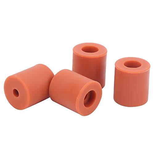 Silicone Leveling Column, 12pcs Silicone Hot Bed Leveling Column Platform Leveler High Temperature Resistant for 3D Printer