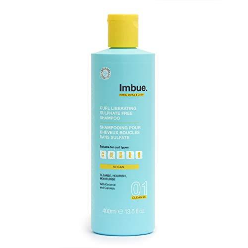 Imbue Curl Liberating Sulphate Free Shampoo, Sulfatfreies Shampoo für Locken - Vegan und 'Curly Girl'-Methode freundlich, 400 g