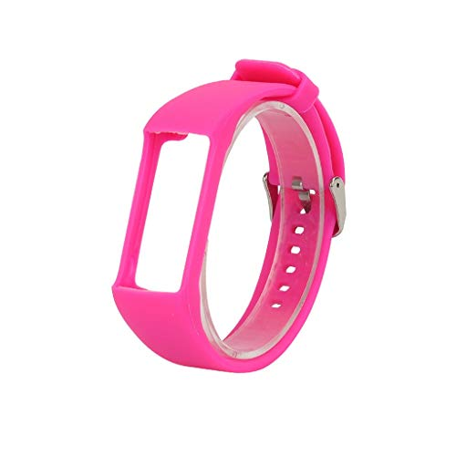 für Polar A370 Smart Watch Sportuhr Armband - Quick Fit Weiches Silikon Sportarmband Uhr Band Strap Ersatzarmband Uhrenarmband für Polar A370 Smart Watch Replacement Strap Watch Band (Pink)