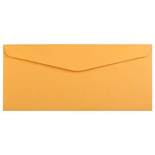 JAM PAPER #10 Geschäftsumschläge - 104,8 x 241,3 mm - Braun Kraft Manila - 50/Packung