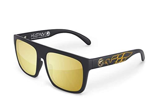 Heat Wave Visual Regulator Sunglasses in Firebird Customs