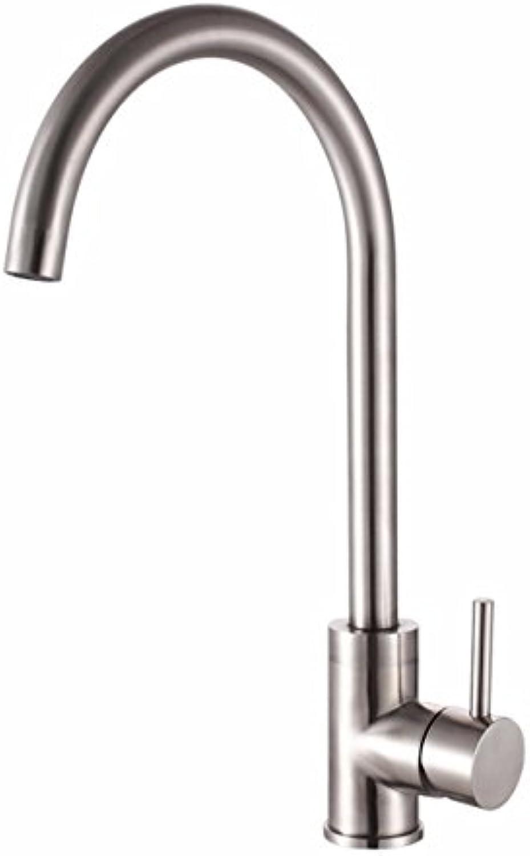 Gyps Faucet Waschtisch-Einhebelmischer Waschtischarmatur BadarmaturWarme und kalte Küche Wasserhahn Armatur aus Edelstahl 304,Mischbatterie Waschbecken