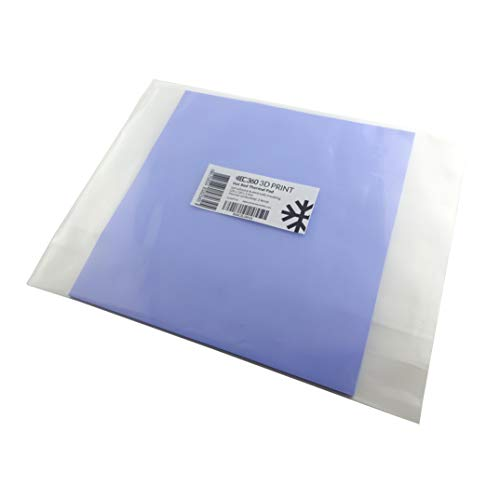 EC360 3D PRINT Heizbett-Wärmeleitpad für 3D Drucker, Druckbett Glasplattenbefestigung (220 mm x 220 mm x 3 mm)