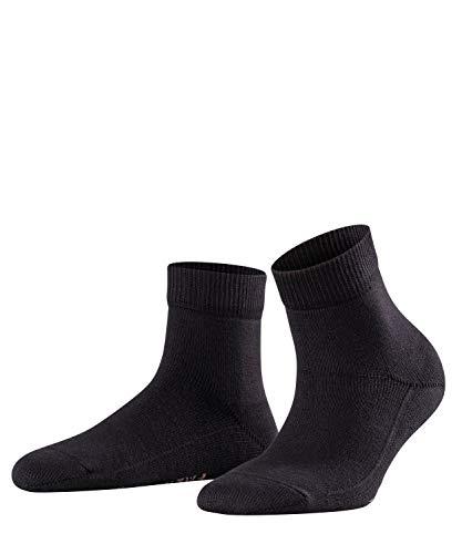 FALKE Damen Light Cuddle Pads W HP Hausschuh-Socken, Blickdicht, Schwarz (Black 3000), 35-38
