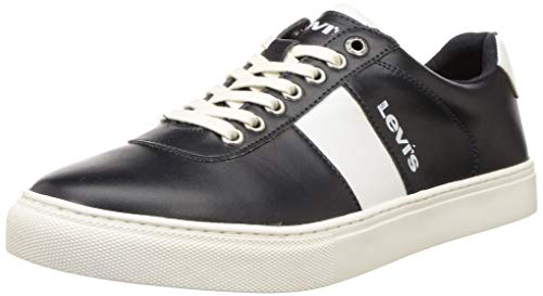 Levi's Men's Aden Navy+White Sneakers-9 UK (43 EU) (10 US) (38099-1649)