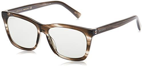 Gucci GG 0449 S- 006 HAVANA/GREY RUTHENIUM - Gafas de sol