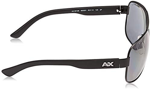 Armani sunglasses for men and women AX Armani Exchange Men's Ax2012s Metal Rectangular Sunglasses