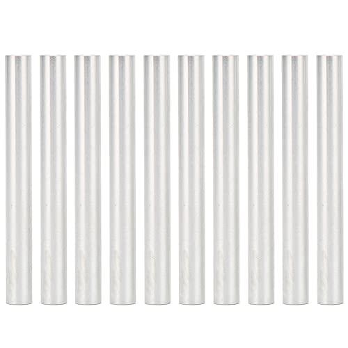 Jeanoko 10 Uds M4 * 0,7mm 48-56mm aleación de Aluminio Pilar roscado Pilar de Rosca Hembra Redondo Pilar de conexión de Columna Espaciador para Ejes intermedios o de cojinetes(Length 48mm)