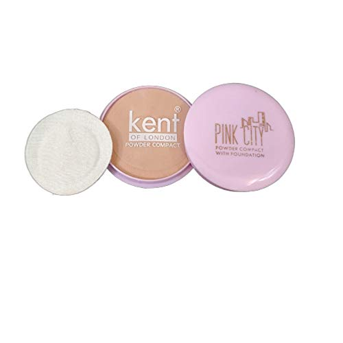 KENT OF LONDON Powder Compact With Foundation - Pack of 6 Pcs.