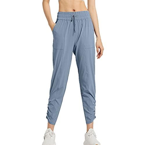 N\P Gimnasio Leggings Yoga Pantalones Deportes Fitness Running Mujeres Cintura Alta
