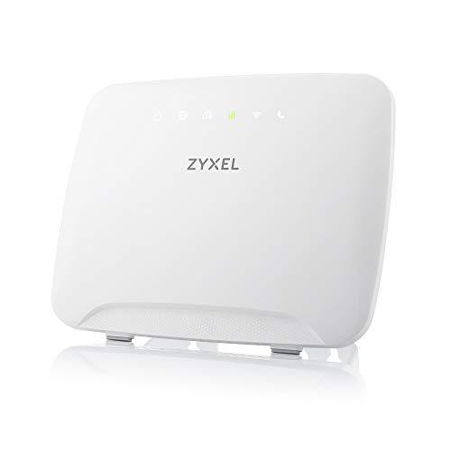 ZyXEL AC1200 4G LTE-WLAN-Router mit SIM-Slot ohne SIM-Lock, 300 Mbit/S LTE-A, Keine Konfiguration erforderlich [LTE3316]