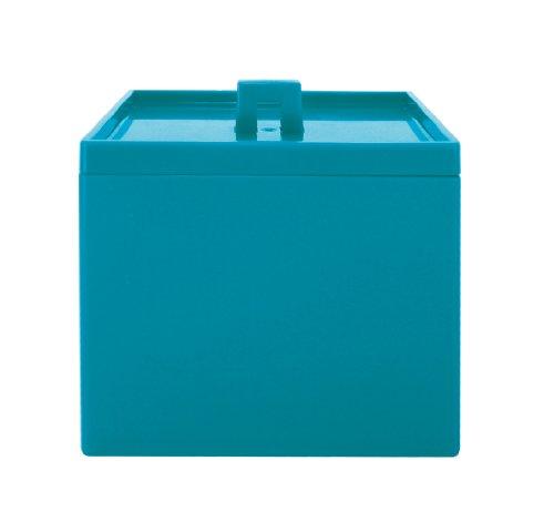 Zak Designs 0412-0211 boîte Rangement Empilable S Opaque Bleu Aqua