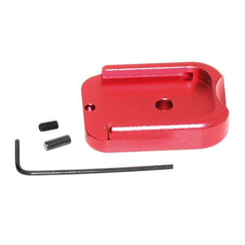 Airsoft Spare Parts Armorer Works AW Custom CNC Magazine Base Plate for Hi-Capa GBB Gas Magazine Red