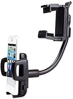 حامل الهاتف المحمول العالمي حامل سيارة الرؤية الخلفية مرآة الملاحة GPS حامل الهاتف الذكي حامل حامل لفون 5s 6 6s زائد