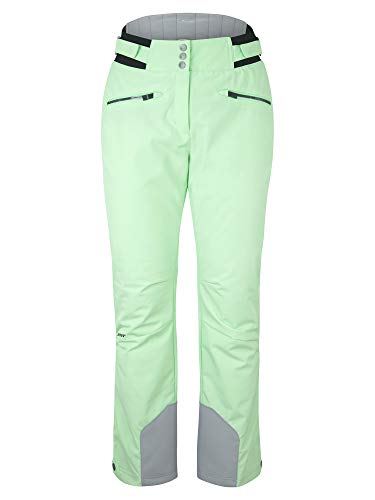 Ziener Damen TILLA Ski Snowboard-Hose | Atmungsaktiv, Wasserdicht, Fresh Mint, 36