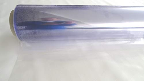 FARTAK PVC KLARFOLIE transparent 130cm / 50mtr Rolle 0,3mm dick LFM Euro 3,30