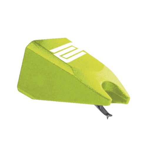 Reloop Ersatznadel Green - ottimizzato per vinili timecode, tensione di uscita molto alta, adatto per lo scratching