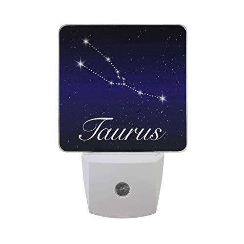 Stier Sternzeichen Sternbild Astrologie Horoskop Blau Sternenhimmel Himmel Sterne Galaxie Weltraum Universum Auto Sensor Nachtlicht
