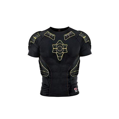 G-Form Youth Pro-X Short Sleeve Compression Shirt, Black, Large