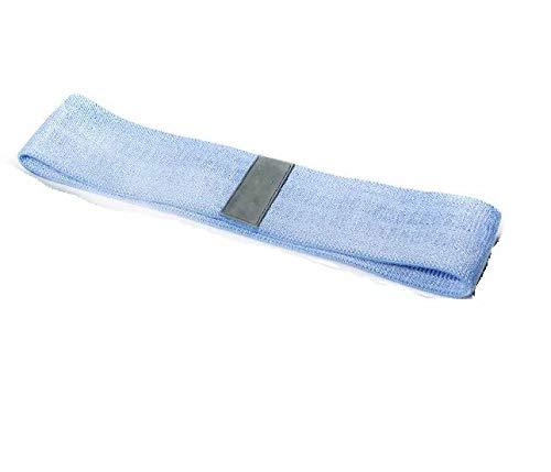 MILASIA Widerstandsbänder * 3 - Elastische Fitnessbänder aus Stoff für Hüfte, Bauch, Oberschenkel und Wade