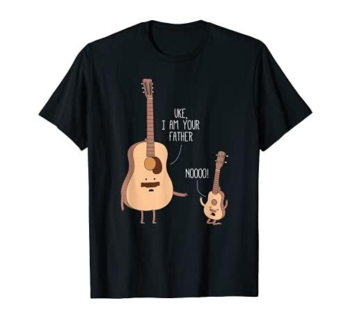 Uke I Am Your Father T Shirt Ukulele Guitar Music