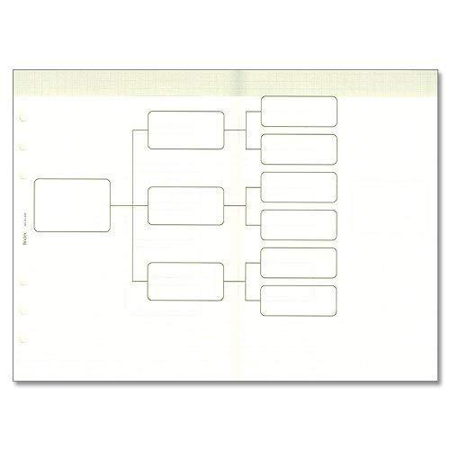 能率 システム手帳 リフィル 仕事の達人リフィール 論理展開ノート A5906