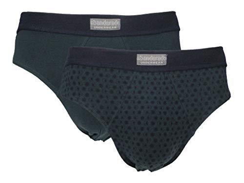 Ocean - Pack 2 Calzoncillos Slips Abanderado Azul Marino, 60/2X