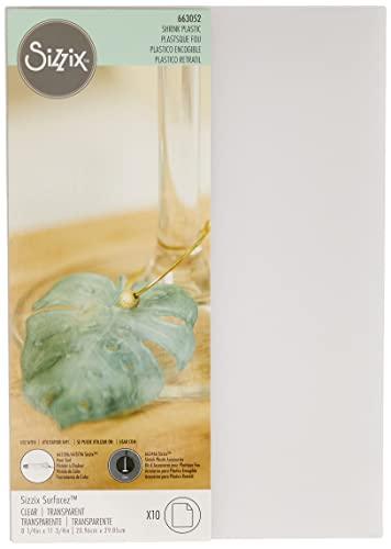 Sizzix 663052 Plastica Termoretraibile, 21x7.3x1 cm