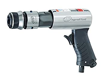 Ingersoll Rand 114GQC Air Hammer - 3 PC Chisel Set with Tapered Punch Panel Cutter Flat Chisel 2-5/8 Inch stroke 3500 BPM Lightweight Compact Gray