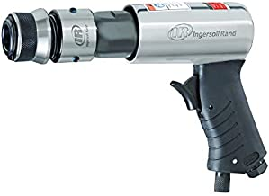 Ingersoll Rand 114GQC Air Hammer - 3 PC Chisel Set with Tapered Punch, Panel Cutter, Flat Chisel, 2-5/8 Inch stroke, 3500 BPM, Lightweight, Compact, Gray