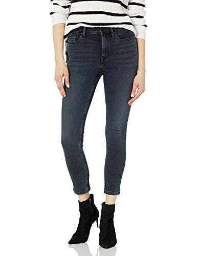 Calvin Klein Women's High Rise Skinny Jean, SAHPPHIRE, 29
