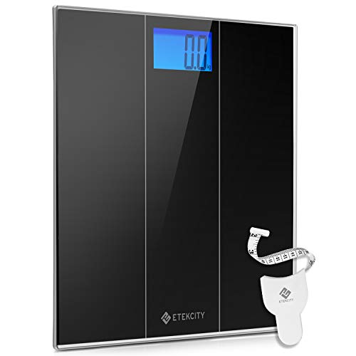 Etekcity Digital Body Weight Bathroom Scale with Large LCD Screen, Easy to Read, 400 Pounds